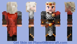 Aegon the conquerer - A Song of Ice and Fire Minecraft Skin