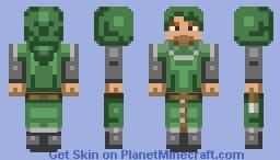 Archer (25 sub's!) Minecraft Skin