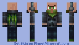 Villager Brigand Skin 1 - The Medieval Mobs Mod Minecraft Skin