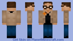 Chief Martin Brody: Jaws (40th Anniversary) Minecraft Skin