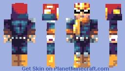 Captain Falcon (Alts in Desc) Minecraft Skin