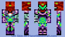Gravity Fusion Suit (Removable Suit) Minecraft Skin