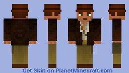 Indiana Jones With Removable Jacket