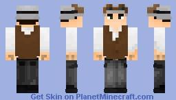 Jack Cog (AKA Jackson Helios) Minecraft Skin