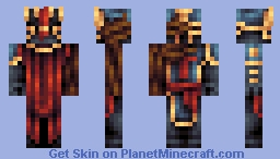The Lost Hero - Boss Battle Minecraft Skin