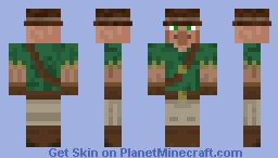 Villager Camper Skin 2 - The Camping Mod Minecraft Skin