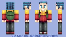 Pokemon Trainer Minecraft Skin