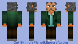 Quint: Jaws (40th Anniversary) Minecraft Skin