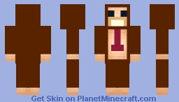 DONKEY KONG : BARREL BLAST Minecraft Skin