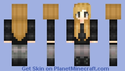 °rιceвowl° Dauntless Girl... Tris? (Divergent Series) Minecraft Skin