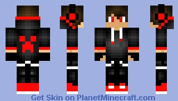 Creeper Vamp Minecraft Skin