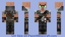 Villager Tribesman Skin 1 - The Medieval Mobs Mod Minecraft Skin