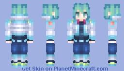 DRAMAtical Murder - Aoba Seragaki Minecraft Skin