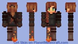 Warrior girl Minecraft Skin