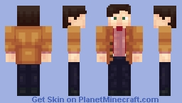 11th Doctor (Blue Bowtie Version Avaliable And More) Minecraft Skin