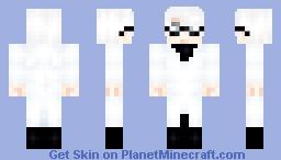 Arima Kishou (Request) Tokyo Ghoul Minecraft Skin