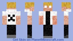 Herobrine's Son Minecraft Skin