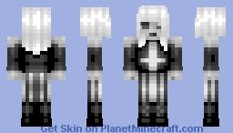 So Goth I'm Dead Minecraft Skin