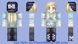 It's June, but here's a winter skin anyway Minecraft Skin