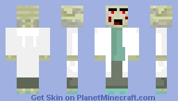 Infected Minecraft Skin