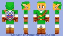 Link: Ocarina of Time (Alternates in Description) Minecraft Skin