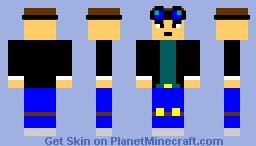 My Version of DanTDM Minecraft Skin