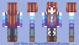 New hair shading? Your opinion is appreciated. Minecraft Skin