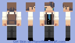 my own race Minecraft Skin