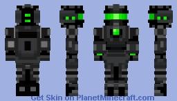 RedGlitchDragon (5.0) Minecraft Skin