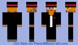 rich guy Minecraft Skin