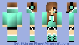Gamer Girl Minecraft Skin