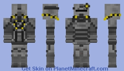 Fallout 4 t-45b Power Armour Minecraft Skin