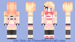 ✌.ʕʘ‿ʘʔ.✌Toy Chica Minecraft Skin