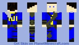 Vault 101 Amoured Dweller Minecraft Skin