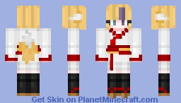 inspired by some qt animu grill Minecraft Skin