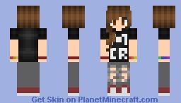 ᴹᶦᵗᶻᶦ My Chemical Romance Fangirl Minecraft Skin
