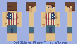 patriotic pete Minecraft Skin