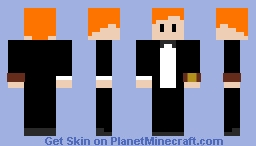 Black Tie Event~RocketScience Minecraft Skin