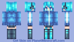 Ene 【Kagerou Project】 (Remake) Minecraft Skin