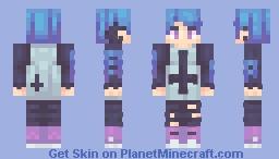 Oc - Fukyū Minecraft Skin
