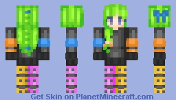 Skin Trade With Snowdrop!(Credit to her) Neon lights