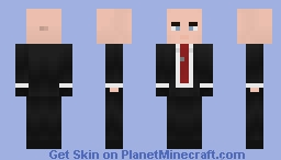 Hitman - Agent 47 Minecraft Skin