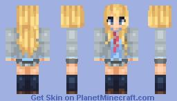 Kaori Miyazono Minecraft Skin