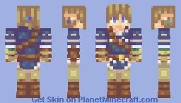 Sheik Minecraft Skin - Skins para minecraft zelda