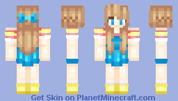 """I'm the mayor of this town~"" Minecraft Skin"