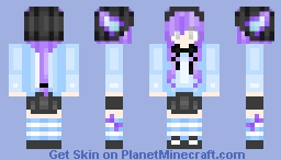 That moment you didn't want to finish your skin ;-; Minecraft Skin