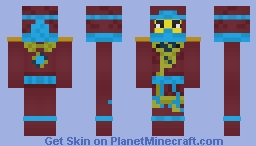 Ninjago (Possession) - Deepstone Nya Minecraft Skin