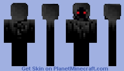 Scary Ghost Minecraft Skin