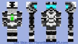 White Halo Suit Minecraft Skin
