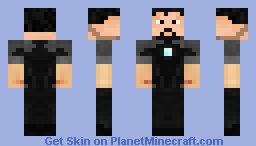 Tony Stark (Iron Man 3) Minecraft Skin